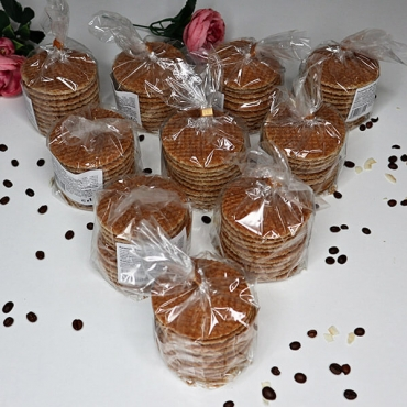Holandské karamelové wafle - 10ks