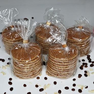 Holandské karamelové wafle - 5ks